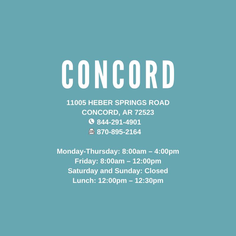 Concord, AR Clinic