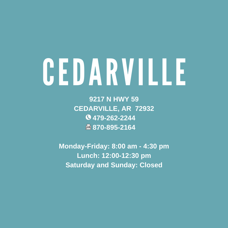 Cedarville, AR Clinic