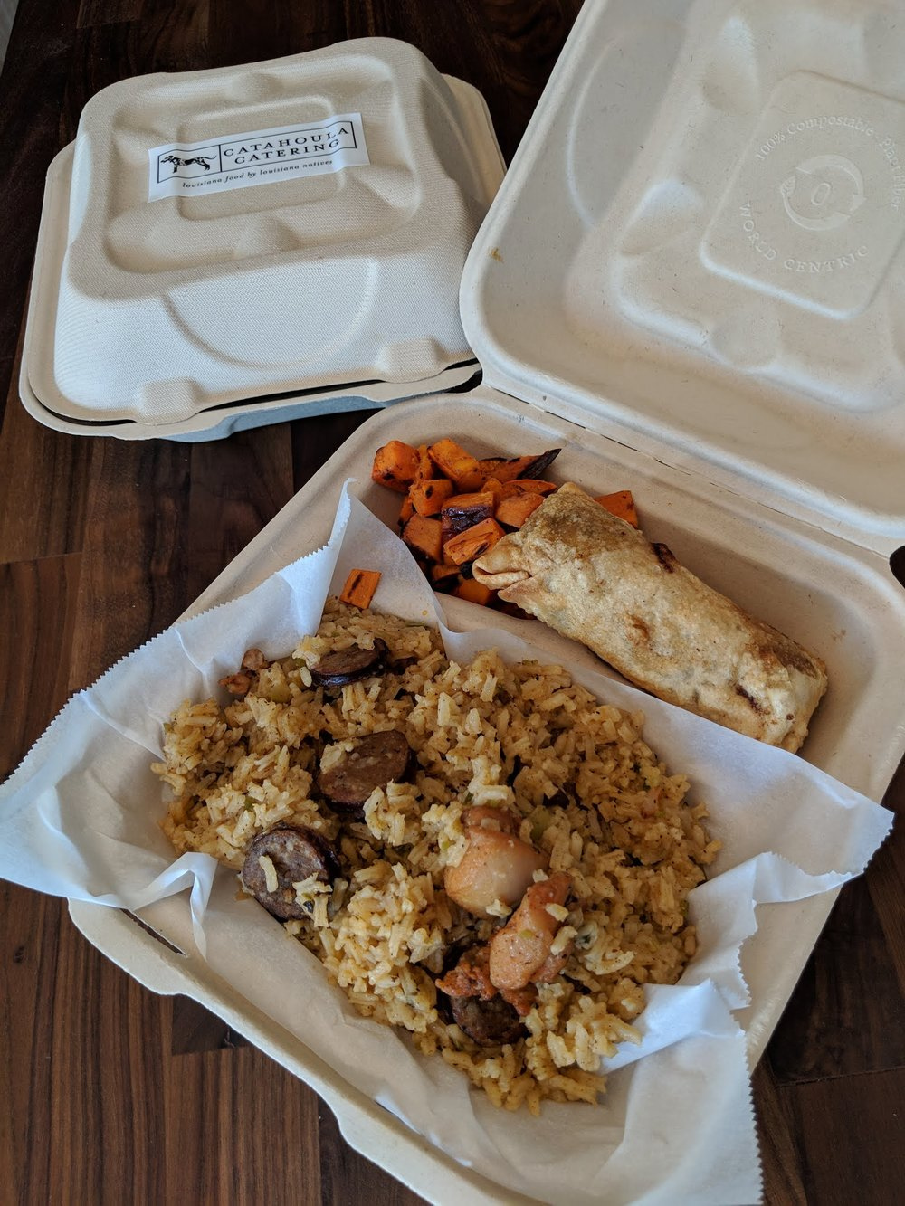 Jambalaya Lunch Box