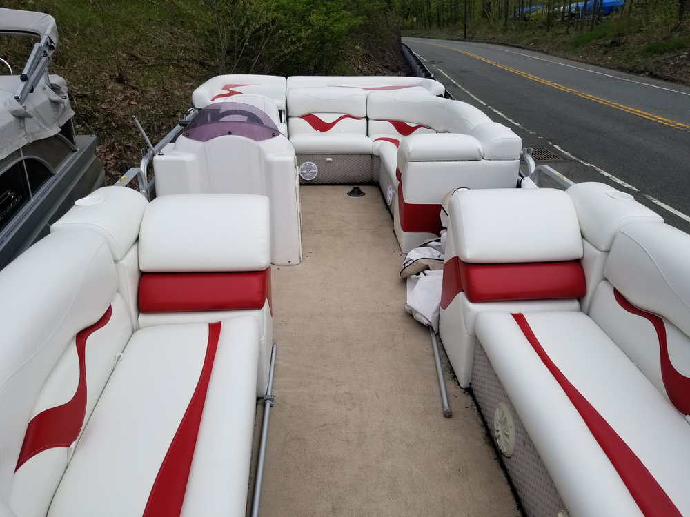 Services - Find out about our services, including boat covers, upholstery, and more.