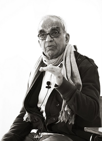T.K.V. Desikachar in 2010, the last time he came to the UK and travelled outside of India.