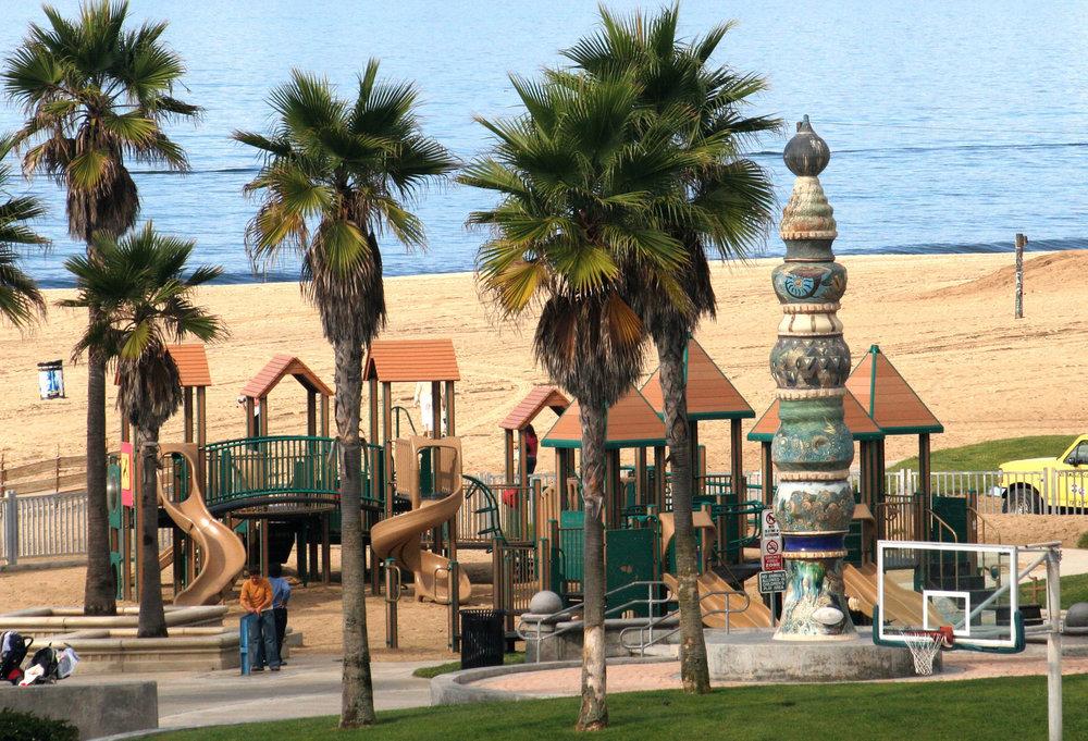 Venice Beach Children's Playground, photo by Venice Paparazzi