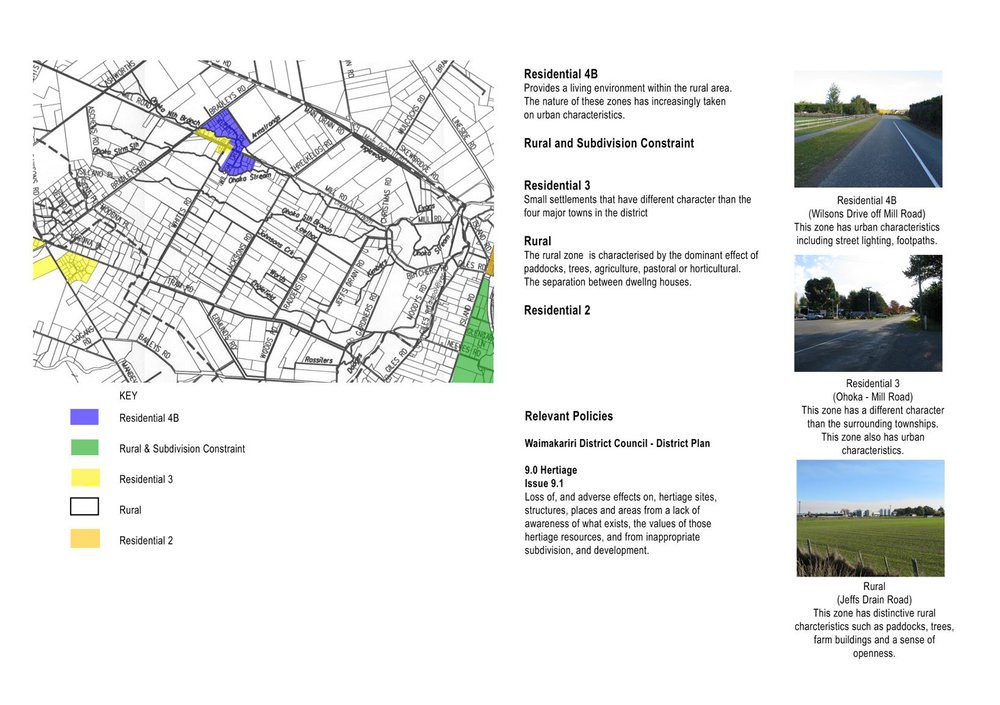 Ohoka: landscape character assessment of a changing peri-urban landscape