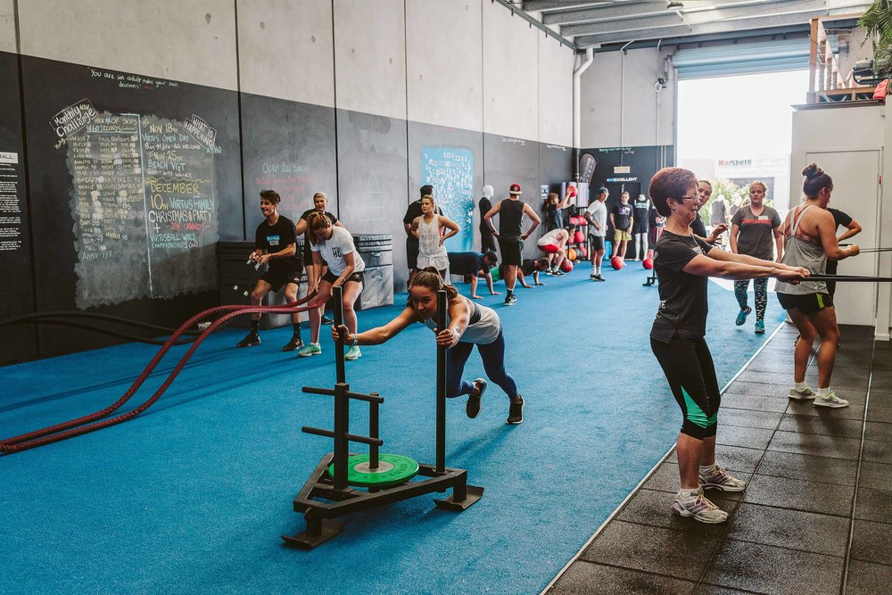 Virtus Group Training - Our group training is designed with two things in mind. Your goals, and the incredible community that can help you achieve them. With structured programming and 18 weekly sessions, you'll feel like the programs are written just for you. Our pillars consist of Movement, Strength and Conditioning and we want to see you excel at all three whilst spending time with other wonderful humans hungry to achieve their goals.
