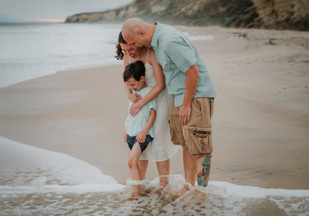 """""""Karyn, you captured our family in a way that told our story perfectly and changed the way we feel about having our pictures taken- we actually look forward to it now"""". - Vanessa + Tom"""