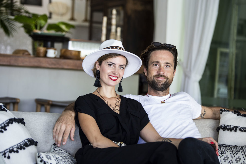Dorota and  Esmond Baring , co-founders of NYOUDE Transformational Relating Methodology.