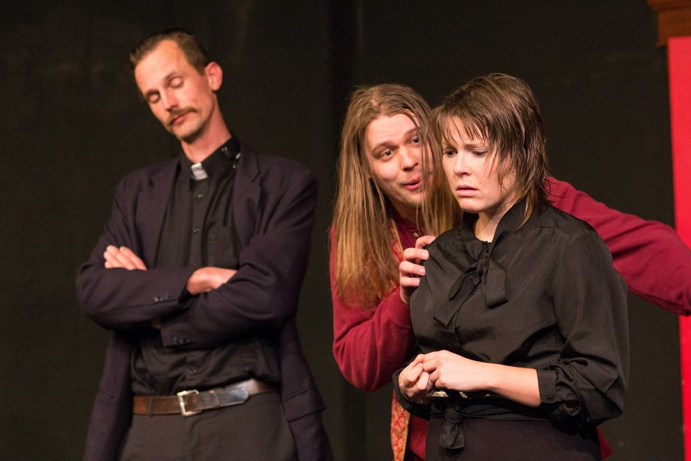 """""""Cult Band"""" at the Idiom Theatre. Photo credit: Tad Beavers."""
