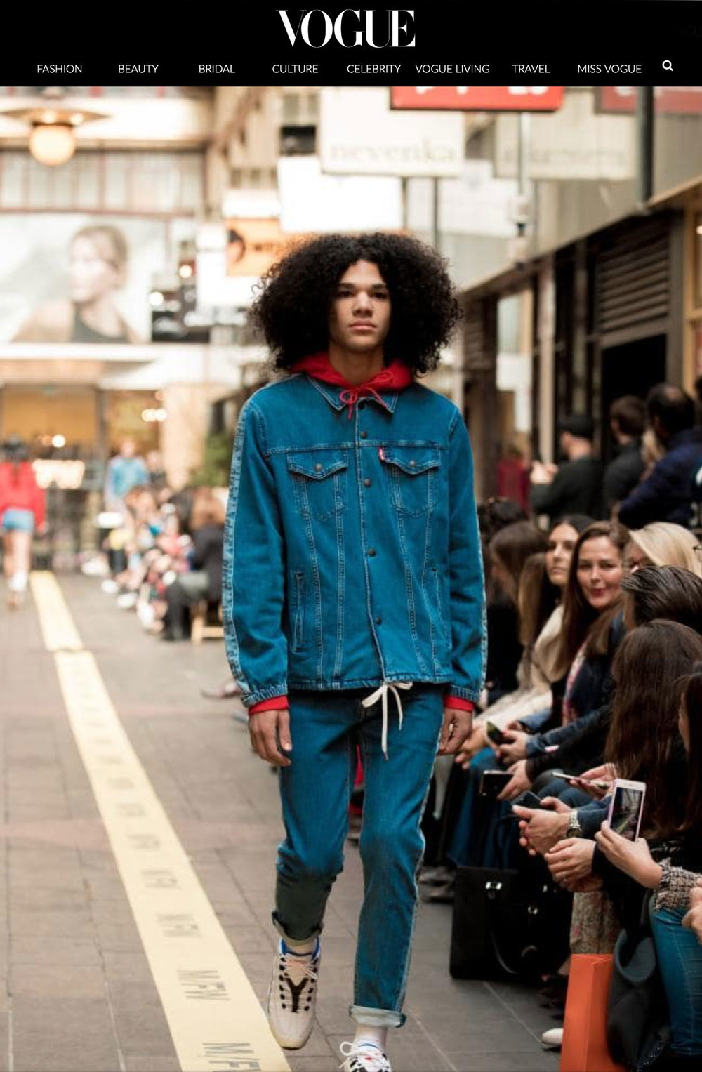 Dexter - MFW Street Runway 1 - Opening. View full Vogue article.