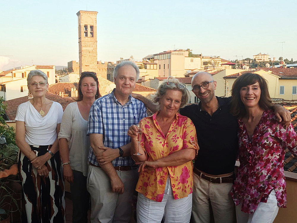 Antonia, Juliane, Luca, Tanya, Angelo, Olivera    Core Docents