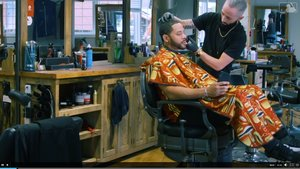 Tommy Pham at The Boulevard Hair Co. -Featured on the MLB Network