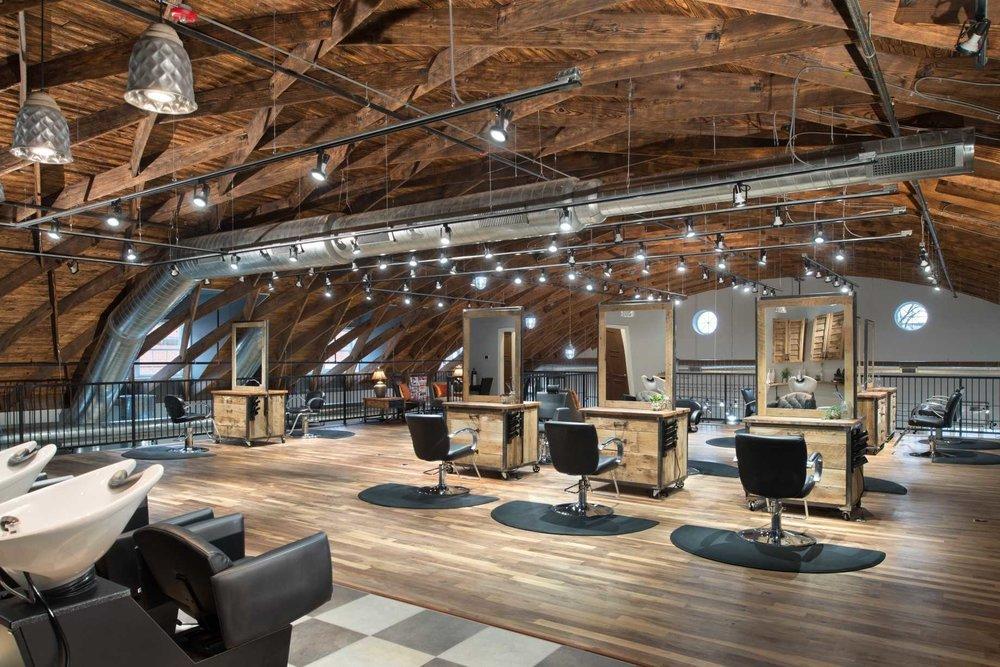 Cutting/Styling Floor - Mezzanine
