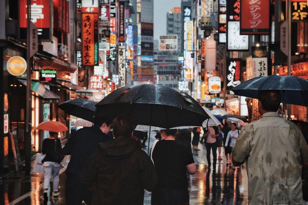 Shinjuku Rain