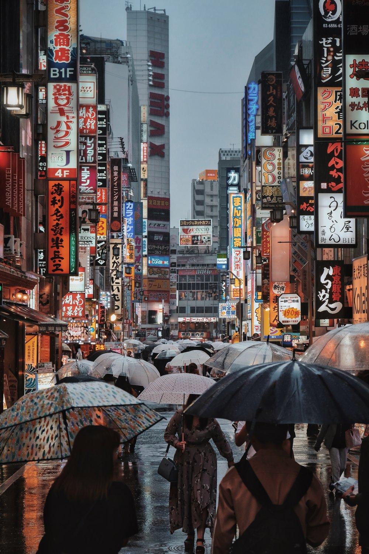 Rain Shinjuku