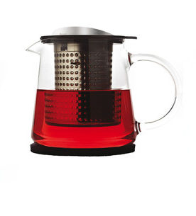 Finum Tea Control teapots  Available in different sizes and colors