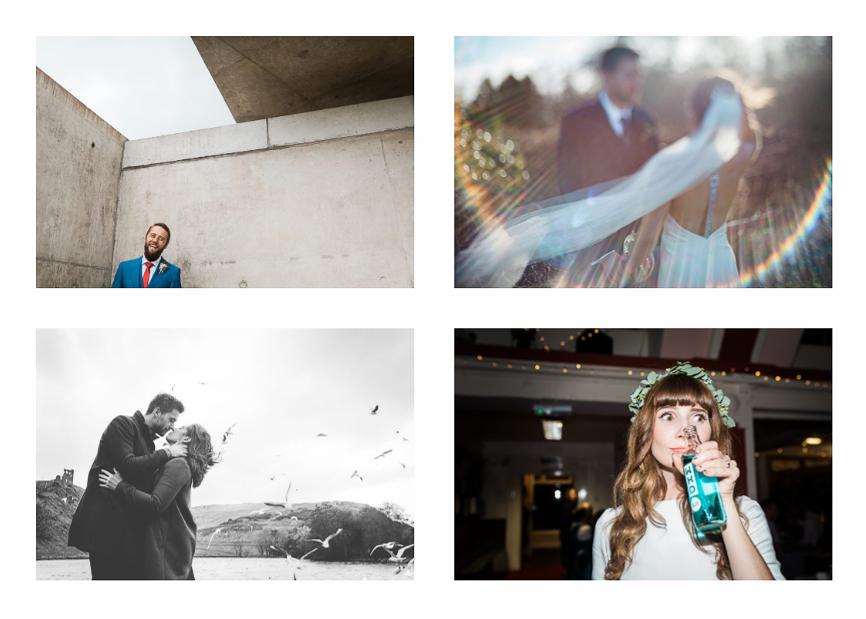 alternative wedding photographer scotland