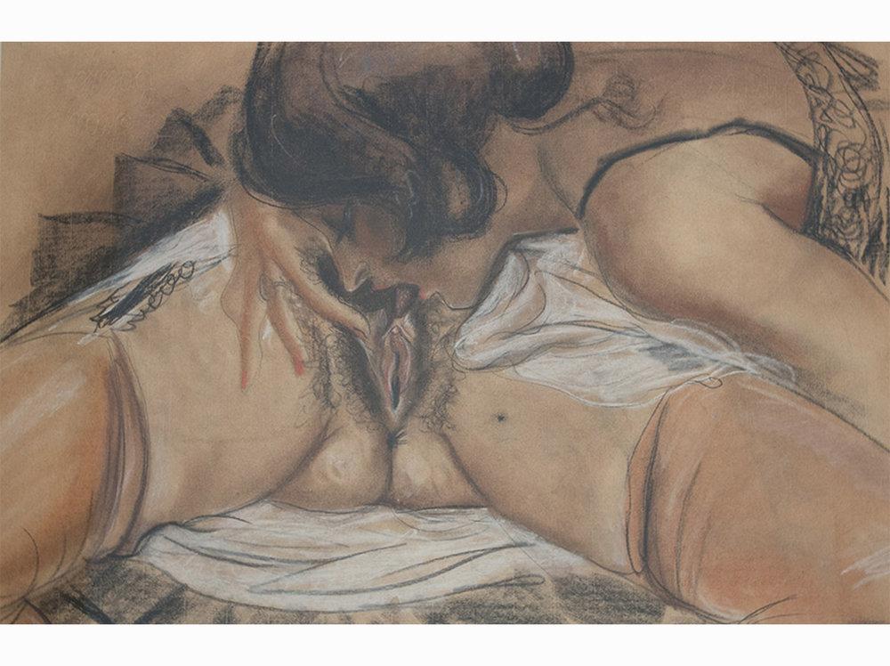 Henri Toulouse-Lautrec   Untitled | w atercolor on paper | 40 x 60,5 cm.
