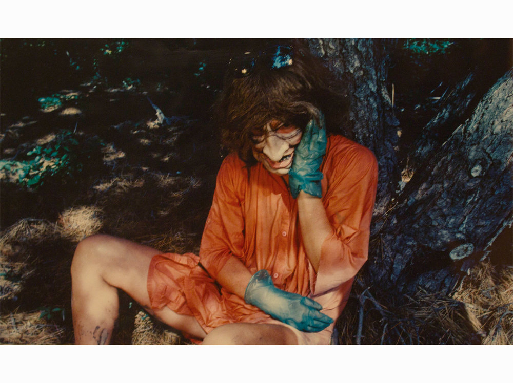 Cindy Sherman    Untitled    1986   colored print   ed. number 60/200   27,8 x 37,7 cm.