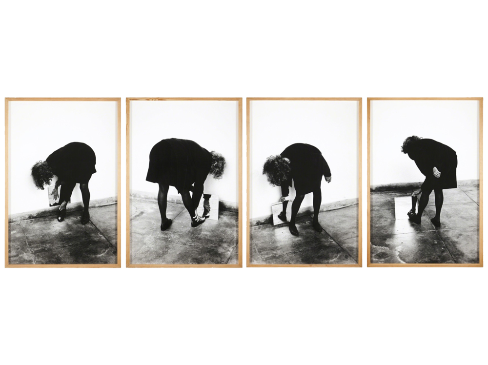 Helena Almeida   Dentro de mim |  2000 | photography on paper | 132 x 90 cm.