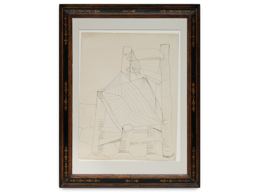Pablo Picasso    Chaise      | 1942 | pen and ink on paper | 65,8 x 50,9 cm.