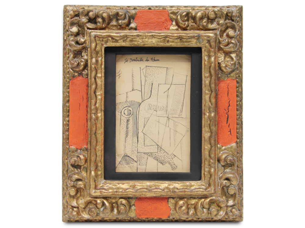 Fernand Léger    La Bouteille de Rhum      | 1914 | pencil on paper | 22 x 18 cm.