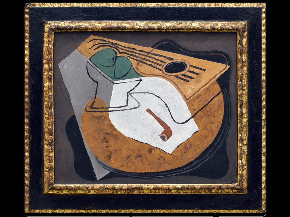 Juan Gris    Guitare et Compotier      | 1927 | oil on canvas | 46 x 55 cm.