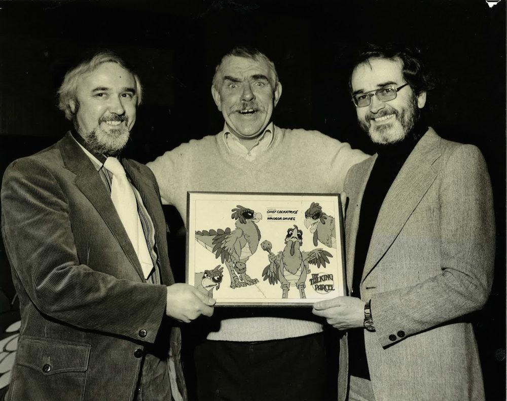 Mark Hall, Winter Davies and Brian Cosgrove. Image courtesy of Brian Cosgrove