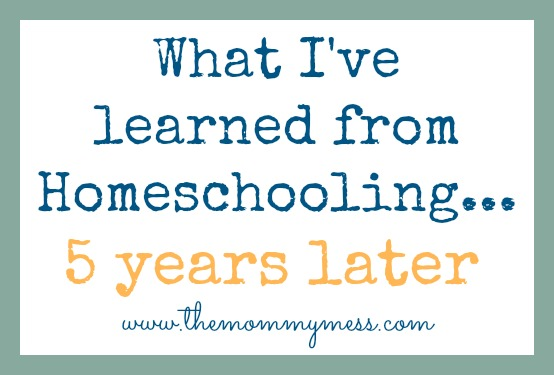 what ive learned from homeschool