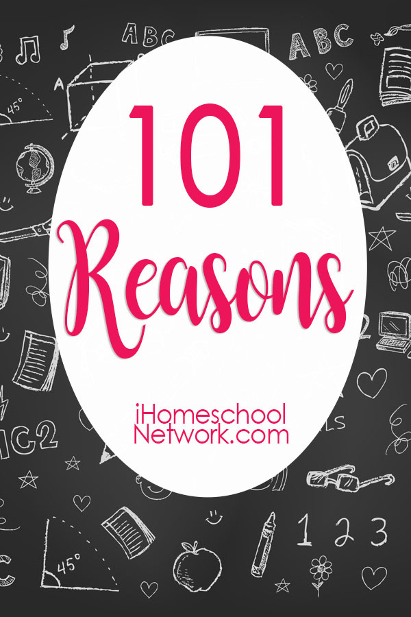 101 Reasons You CAN Homeschool High School