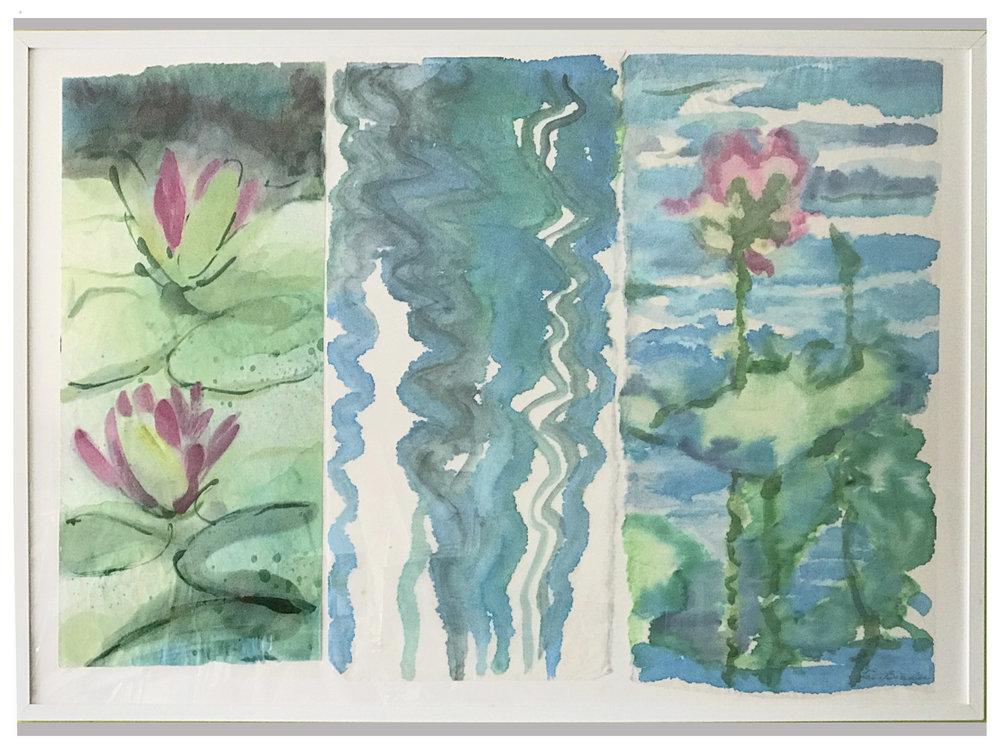 Pond Triptych