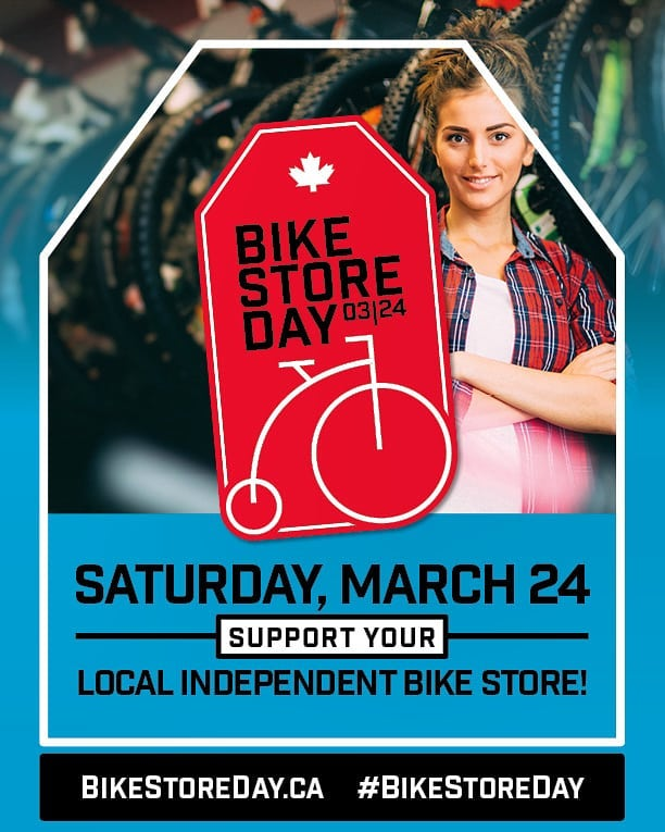 Are you ready for Canada's first #BikeStoreDay? #BikeStoreDay2018 #bikeshoplife #bikeshopbingo