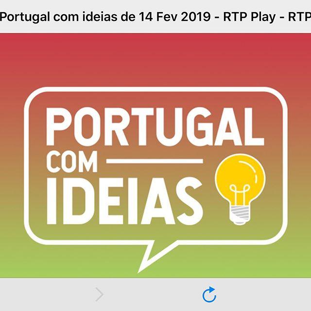 Obrigado à @rdpinternacional pela oportunidade de partilhar um pouco da nossa história.  Excelente trabalho do @joao.bacalhau . Obrigado.  Oiçam o podcast aqui: https://www.rtp.pt/play/p3519/e389639/portugal-com-ideias