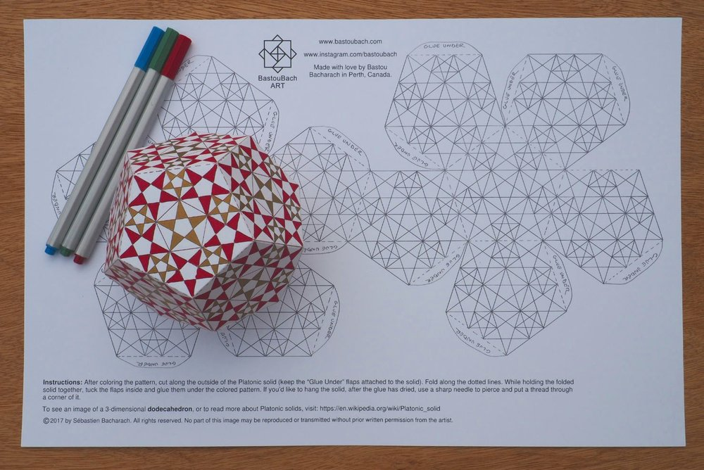 Starry dodecahedron