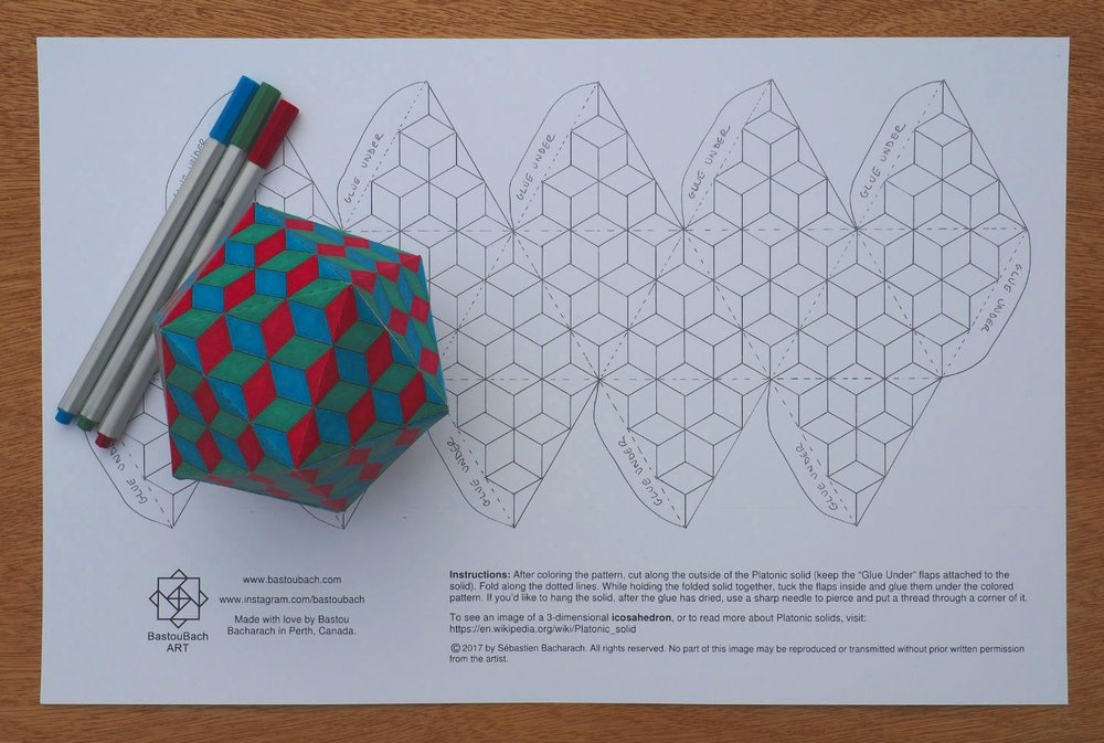 Building Blocks icosahedron