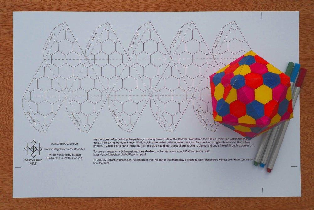 Beehive icosahedron