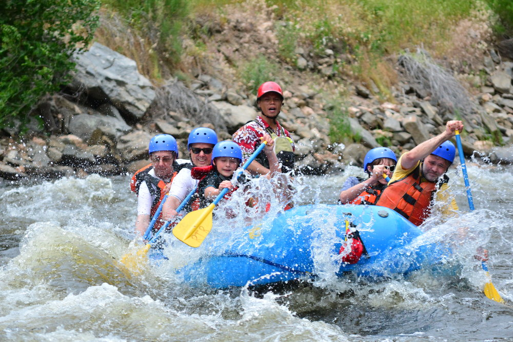 Cache la poudre half-day trip - Half-day whitewater rapids trips on Colorado's only designated Wild and Scenic River. These trips depart Estes Park up to three times daily.
