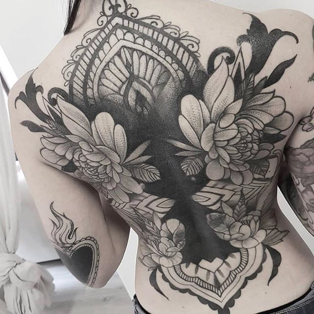 The amazing @camillafalco_tattoo is with us in September, we are releasing this post early to give our customers chance to book and arrange consultations with our bookings manager. 🕉🕉 Her slots really won't last long so we are inviting people to enquire and book in advance as not to cause disappointment. She is with us for one month in the middle of #September and we are looking forward to her joining the team.  #finelinetattoo #ornamentaltattoo #blackwork #ornamental #itslian #bali #tattoo #ink #fine #skills #italiantattooartist #backpiece #tattoodotwork #tattodo #baliink #ubudink #inkinubud