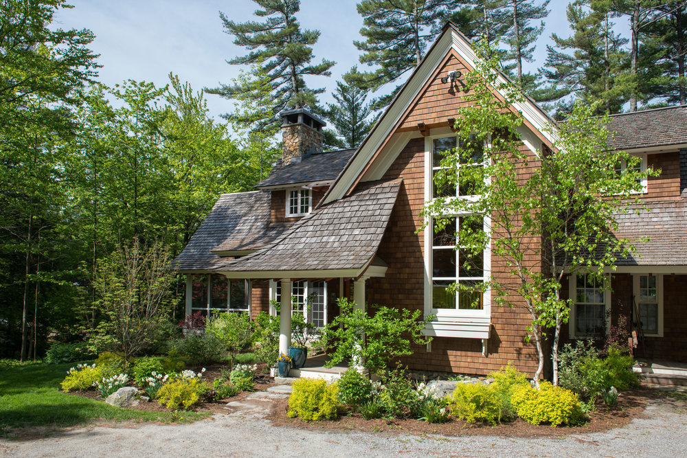 Dutch Style Shingle Cottage