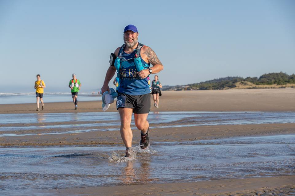 Shane just recently completed his first 50k. After training for over a year with Trail Roots, he established some solid relationships and had friends to help him prepare for his big trail race. Shane shares some of his race memories below.