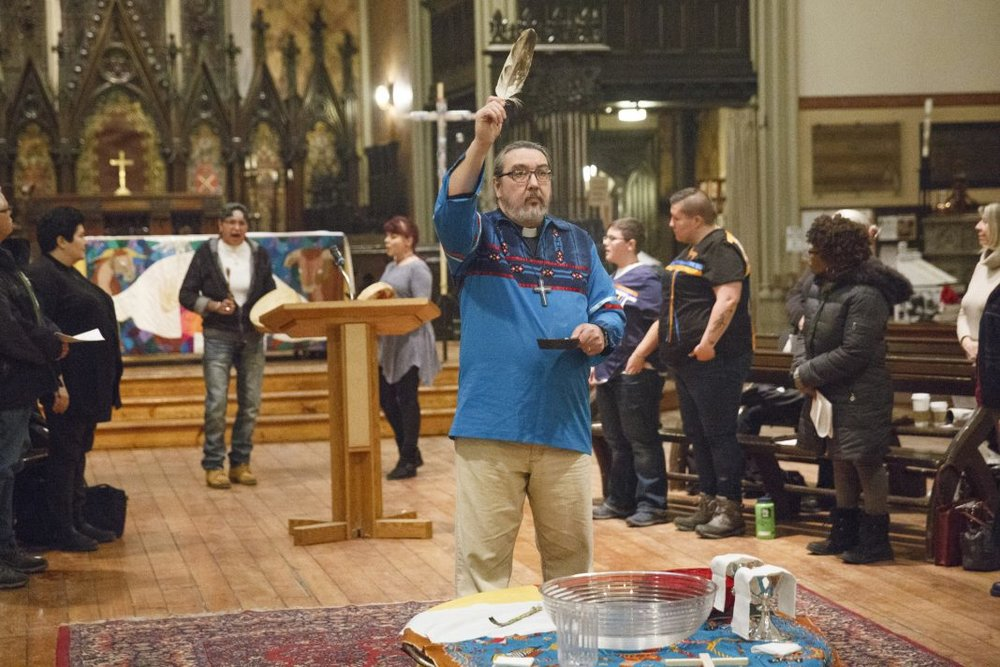 The Rev. Chris Harper (pictured here at a Water Blessing at Church of the Holy Trinity in Toronto) was elected bishop of the diocese of Saskatoon September 8. Photo: Michael Hudson