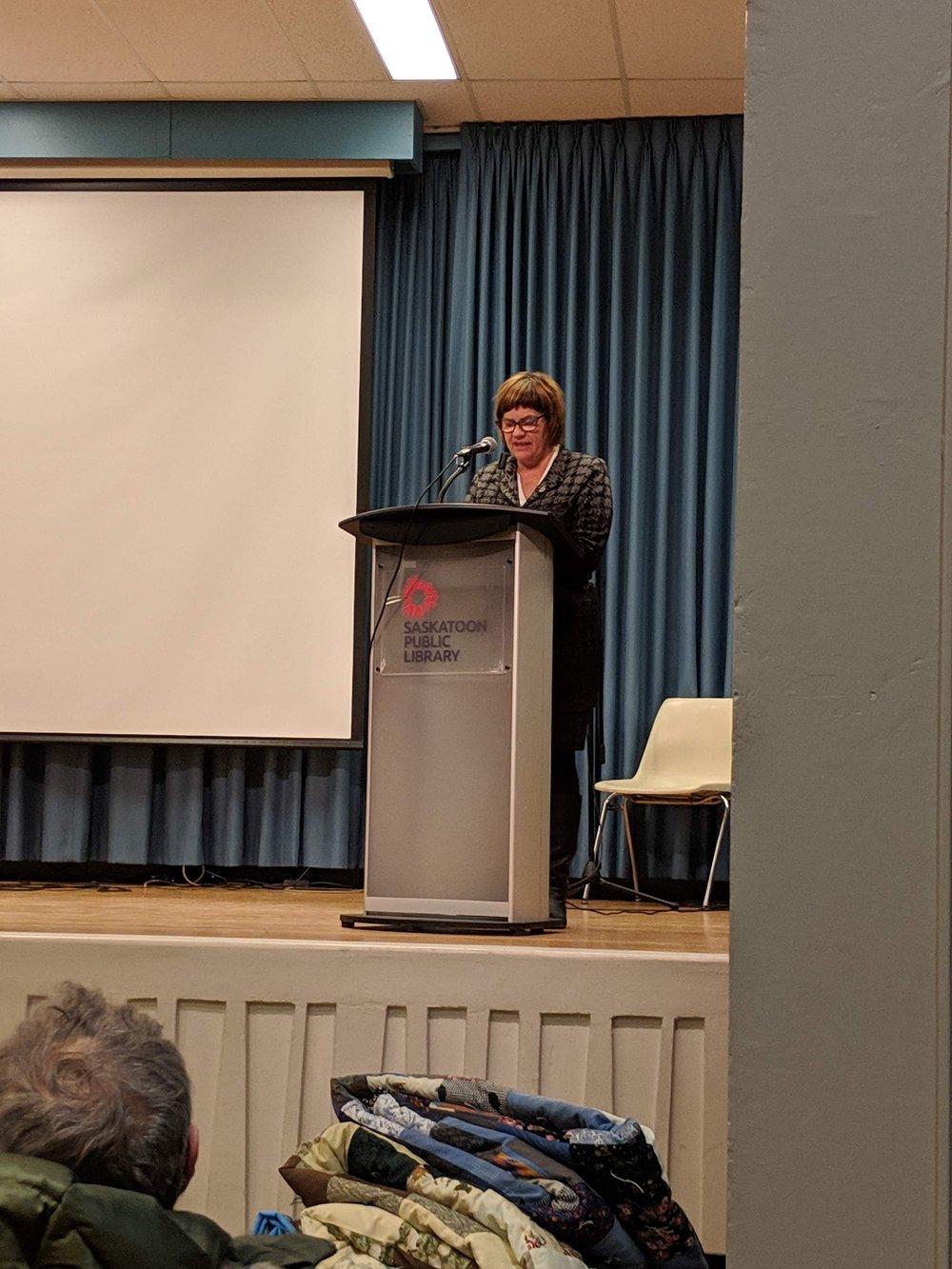 Sheri Benson, NDP, Saskatoon West