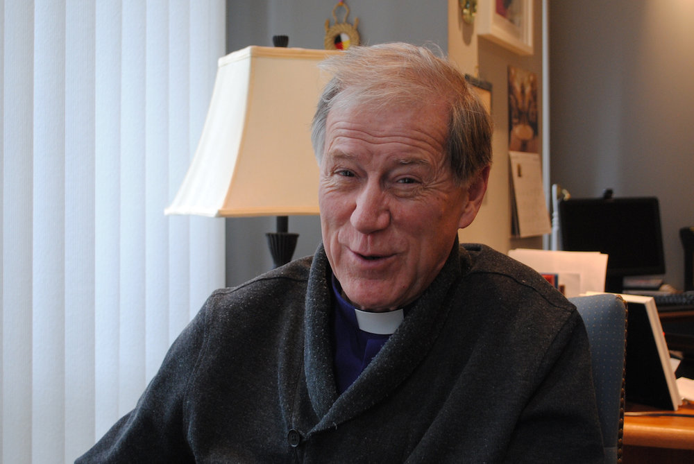 """""""The primate's ministry is to always be attentive to how we create a holy spaciousness, so that everybody feels that they have a place in our church,"""" says Archbishop Fred Hiltz, primate of the Anglican Church of Canada. Photo: Tali Folkins"""