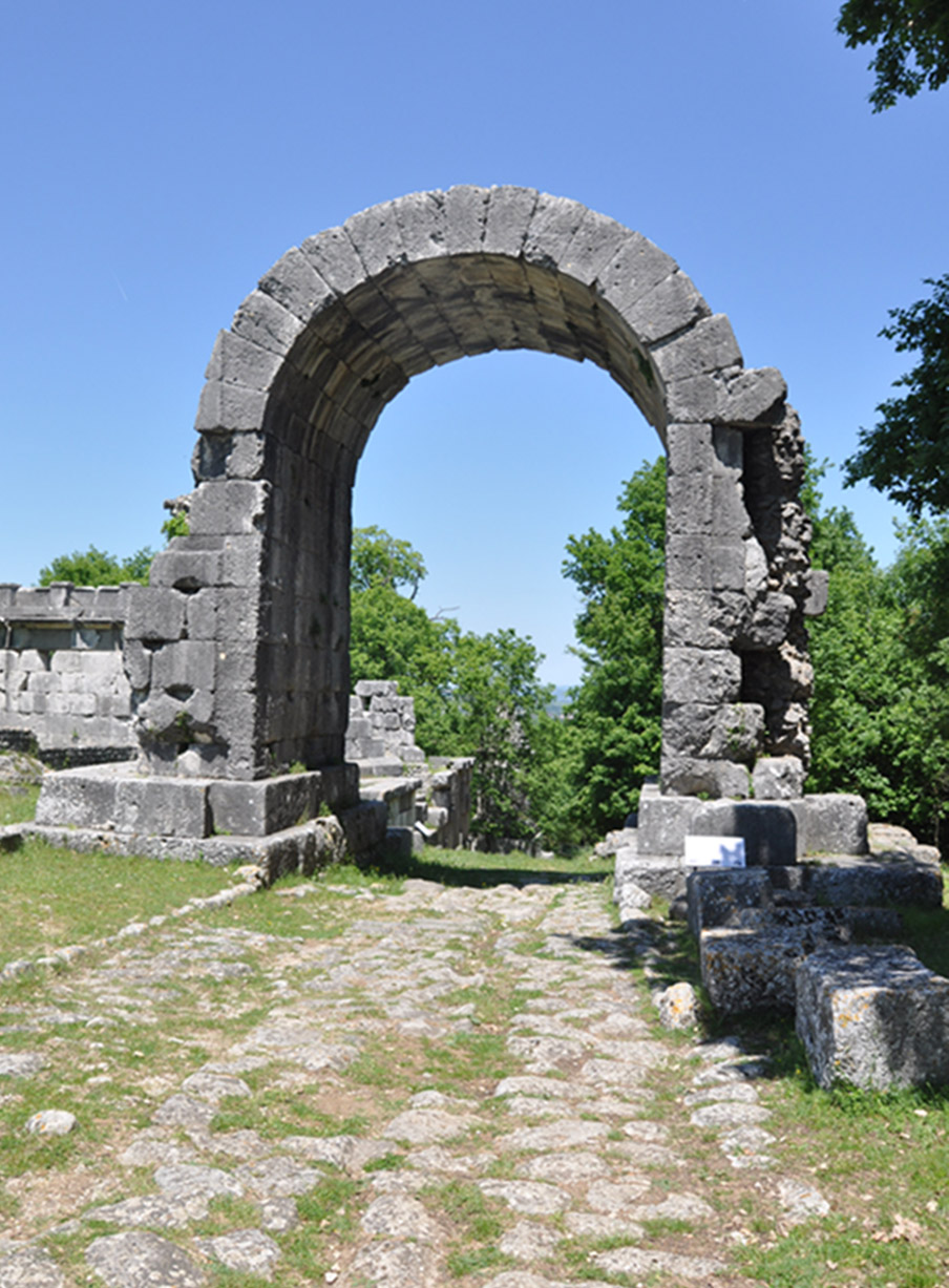 Carsulae, Arch of Saint Damian