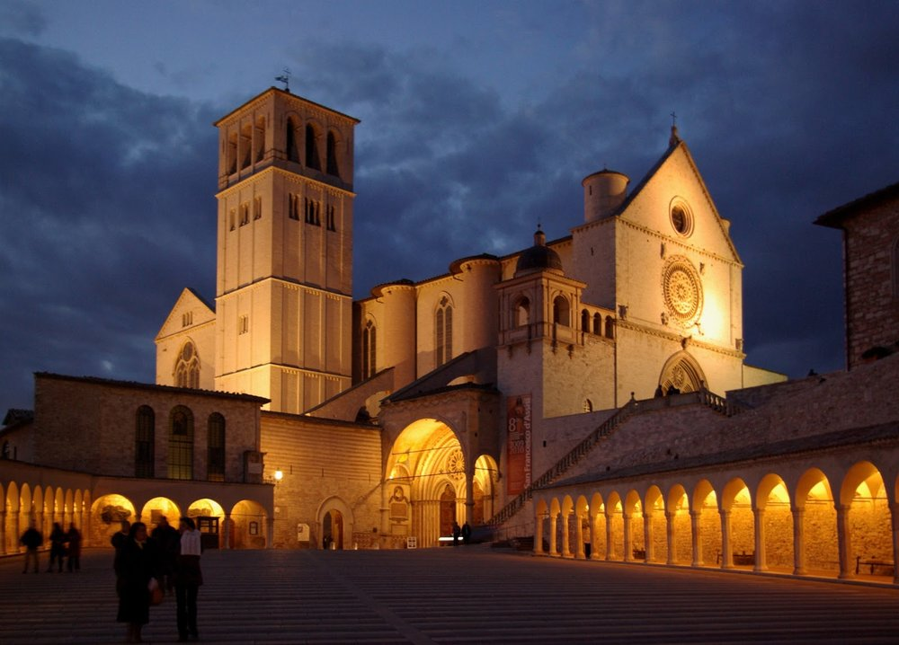 Assisi, Basilica of S. Francis