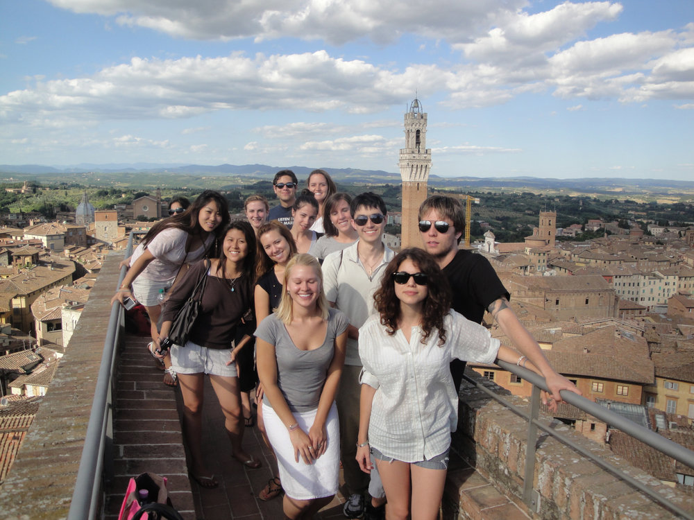 "Siena, on the ""Facciatone"""
