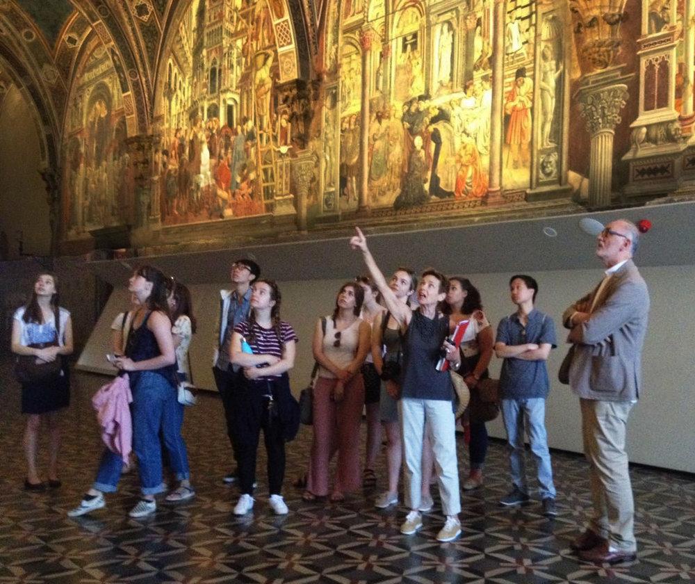 Siena, Visit  Santa Maria della Scala