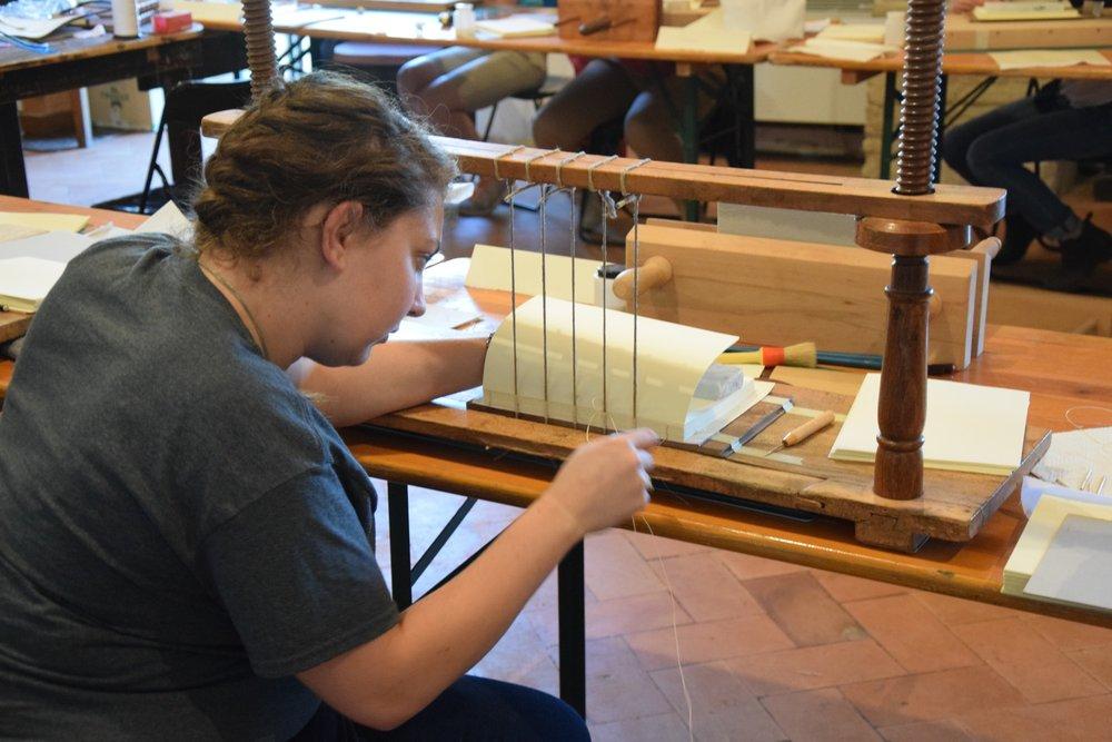 Making Historic Book Bindings -