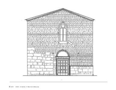 Curch of Santo Gemine - Facade Survey