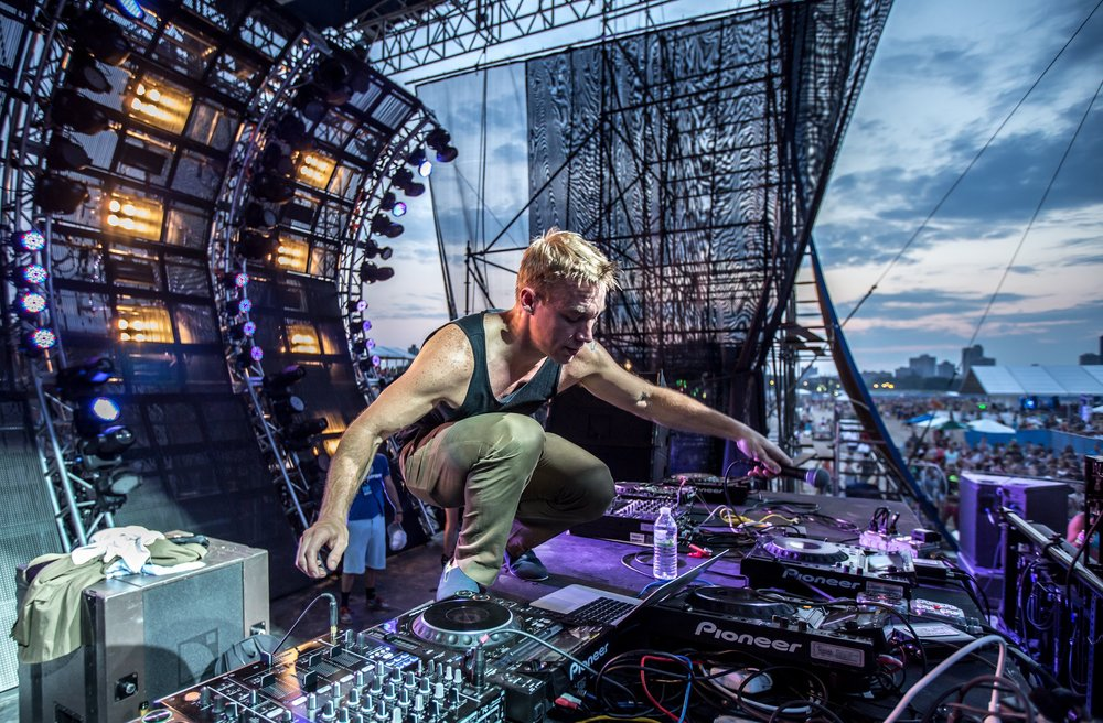 Diplo at Wavefront Music Festival 2013