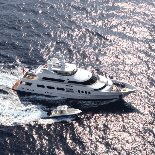 M/Y Never Enough   Classic Feadship, $6M refit restored to original form of glory!