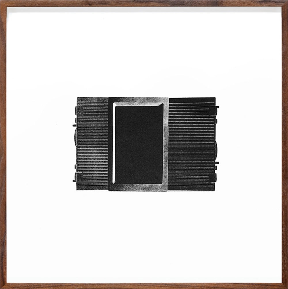 Untitled (Unit VI) , 1999-2015  Édition de 4 Photolithographie sur BFK Rives 37 x 37 cm